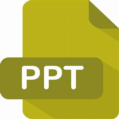 Ppt Icon Icons Type Powerpoint Flat Presentation