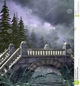 Fantasy Bridge 1 Stock Illustration Image Of Gothic