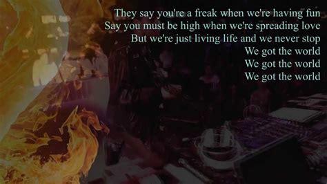 Icona Pop We Got The World Lyrics(official Video)