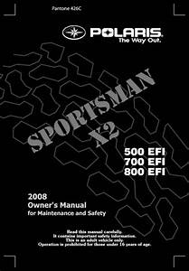 Sportsman 700 Efi X2 Manuals