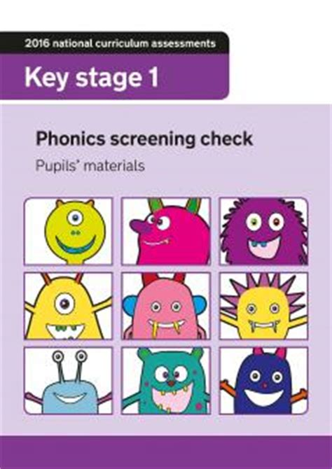Phonics Worksheets  Phonics Activities  Phonics Screening Check Theschoolrun