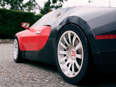 bugatti veyron   paper
