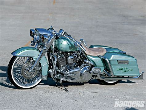 Riding With Big Worm, Bagger, Bike, Custom, Harley 241344