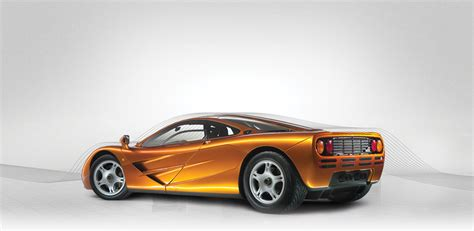 old mclaren five mclaren f1s will be on display at london classic car show