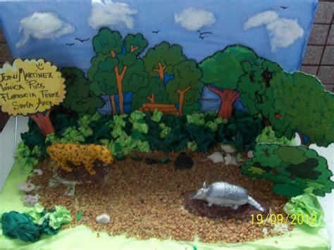 maqueta sencilla medio ambiente sexto quot b quot 2012 los seres vivos maquetas de biomas y