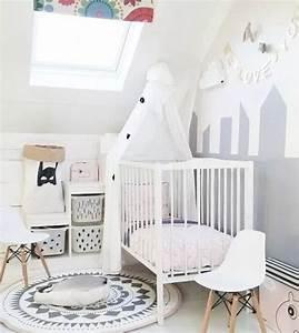 1000 idees sur le theme chambres d39enfants en peinture sur With chambre bébé design avec pendentif fleur nacre blanche