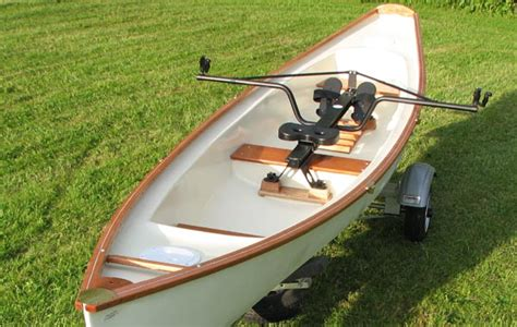 Row Boat Seats by Middle Path Boats Sliding Seat Rowing Boats