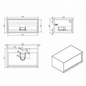 Meuble Salle De Bain 90 : meuble salle de bain simple vasque palio 90 cm blanc ch ne clair le monde du bain ~ Teatrodelosmanantiales.com Idées de Décoration