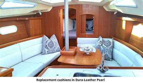 Leather Boat Cushions by Sailboat Interior Cushions Billingsblessingbags Org