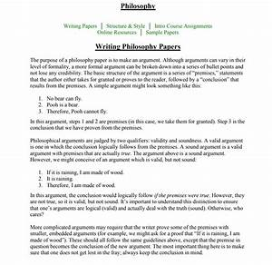 Philosophy Of Nursing Paper Examples  How To Figure Out