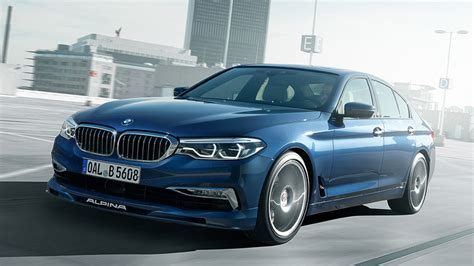 Bmw Alpina B5 Bi-turbo Is The Fastest-accelerating Alpina