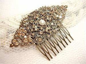 Vintage Bridal Hair Comb Wedding Hair Comb 2226861