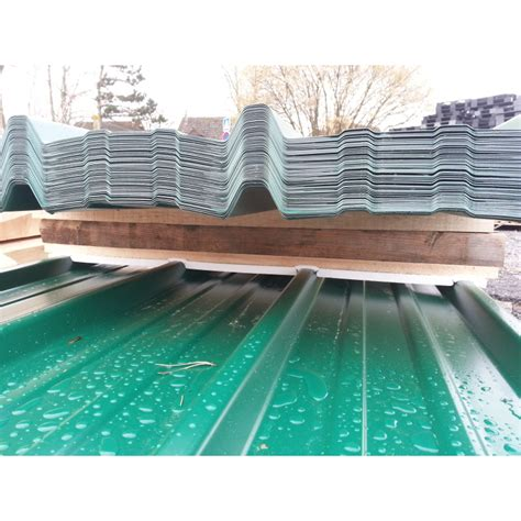 tole de bardage occasion t 244 le bardage toiture verte ral 6005 63 100 longueur 3m c la crise