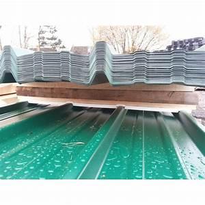 Tole Bardage Pas Cher : tole verte rev tements modernes du toit ~ Premium-room.com Idées de Décoration