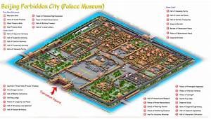 Forbidden City - Beijing Maps