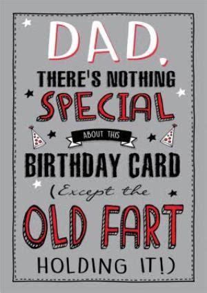 funny  fart birthday card dad moonpig