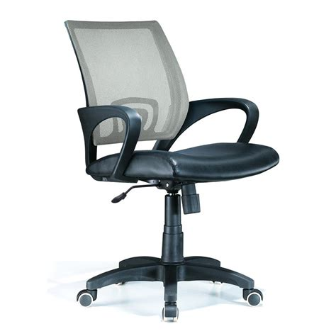 shop lumisource black silver contemporary executive chair