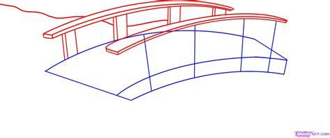 How to Draw a Bridge, Step by Step, Bridges, Landmarks ...