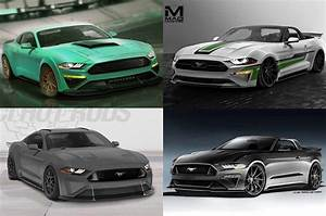 Ford Bringing Seven 2018 Mustang Show Cars to SEMA - Motor Trend Canada