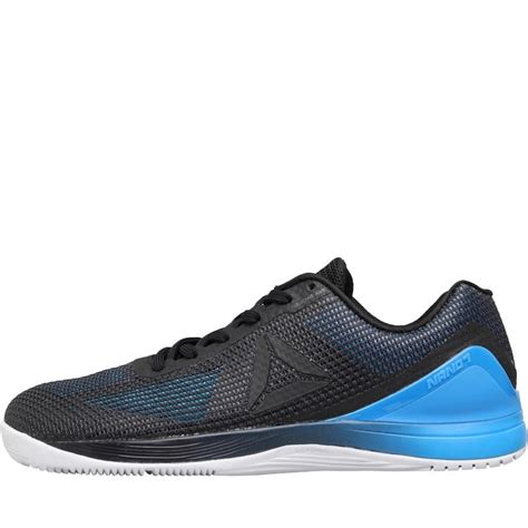 for mens reebok cross shoes blue black white buy reebok mens crossfit nano 7 0 shoes blue beam