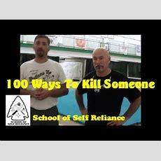 100 Ways To Kill Someone Youtube