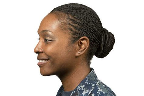 navy issues  hairstyle policies  female sailors
