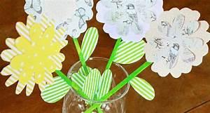 Frühlingsdeko Mit Kindern Basteln : papierblumen diy fr hlingsdeko basteln mit kindern gastbeitrag simplylovelychaos ~ Markanthonyermac.com Haus und Dekorationen