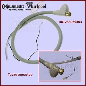 Arrivée D Eau Lave Vaisselle : tuyau d 39 arriv e d 39 eau aquastop whirlpool 481253029403 pour ~ Dailycaller-alerts.com Idées de Décoration