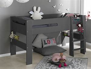 Lit En Hauteur Enfant : le lit mi hauteur un couchage mais pas que ~ Preciouscoupons.com Idées de Décoration