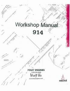 Deutz F3l 1011 Service Manual