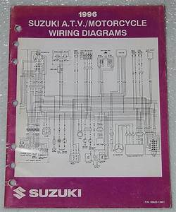 1996 Suzuki Motorcycle Atv Wiring Diagrams Manual