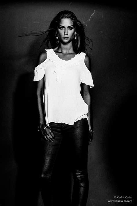 Photos de mode et portraits en noir et blanc