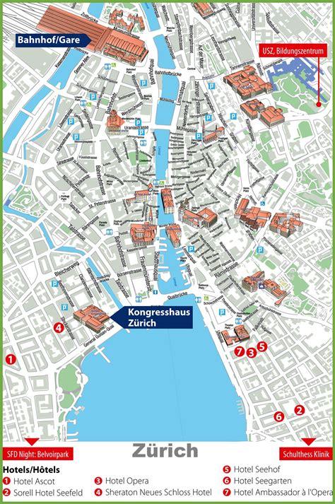 map  zurich compressportnederland