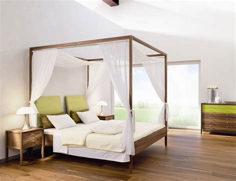 fabulous canopy beds  stunning bedroom interiors