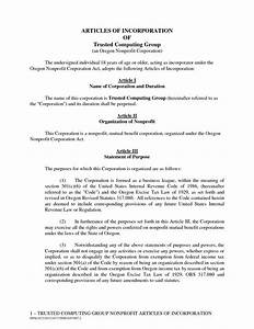 articles of incorporation for business company documents With articles of incorporation llc template