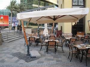 parasol deporte pour terrasse grand parasol excentre de With grand parasol de terrasse