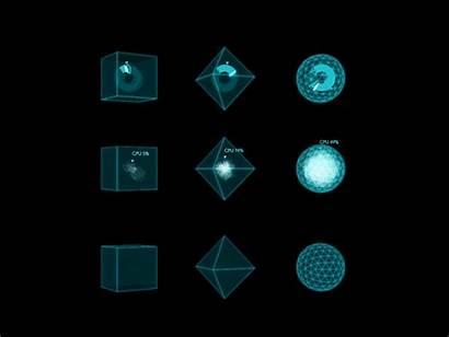 Visualization Data 3d Vr Dribbble Categorical Cube