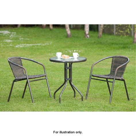 rattan garden furniture bistro sets