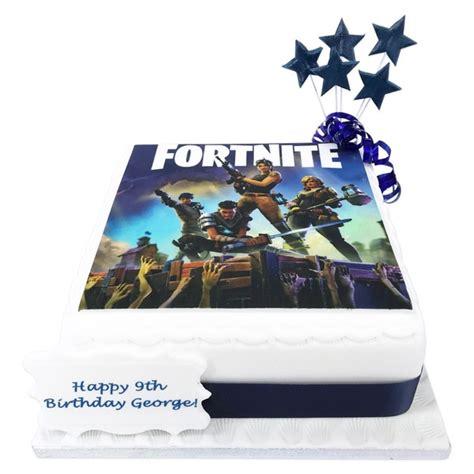 fortnite cake birthday cakes  brilliant bakers