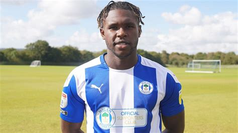 Wigan Athletic FC - Darnell Johnson signs for Latics on ...