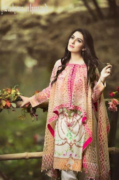 aiza khan wearing cape style dress  zahra ahmad