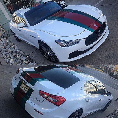 wrapped maserati ghibli instagram media by newageautosport gucci maserati ghibli