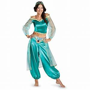 Aladdin and Jasmine Halloween Costumes for Kids and Adults