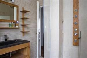 les 4 secrets deco d39une salle de bain zen deco cool With idee couleur salle de bain zen