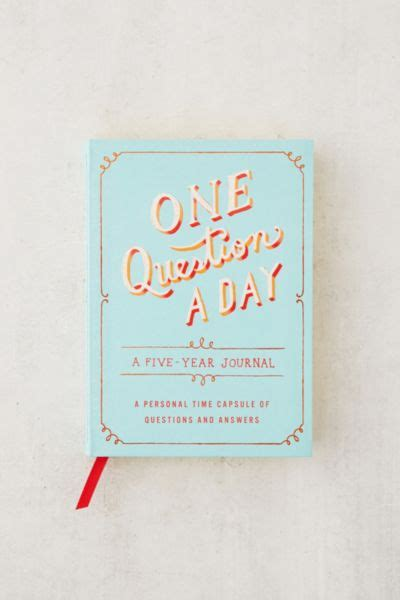 question  day   year journal  aimee chase