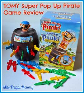 Tomy super pop up pirate game review miss frugal mommy for Super pop review