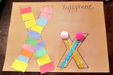 letter x crafts preschool and kindergarten 212 | letter X preschool crafts
