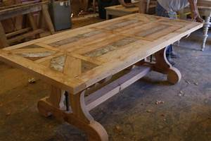 barn wood dining room table plans » woodworktips