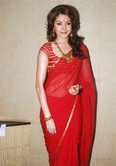 gorgeous pics  red saree blouse designs
