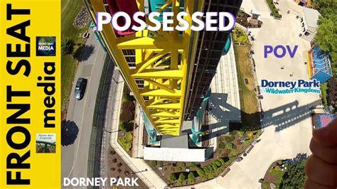 dorney park possessed pov roller coaster front seat gopro